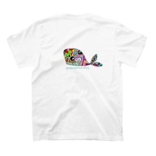 ゼンタングルクジラ T-shirts