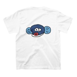 顔だけ半鰻人 T-shirts