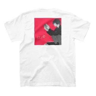 読書 バックプリント T-Shirt