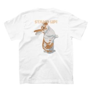 うたっちミニレッキスさん/カラー/背面 T-shirts
