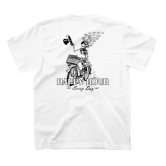 """""""HAPPY HOUR""""(B&W) #2 T-Shirt"""