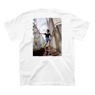線路沿2(背面) T-shirts