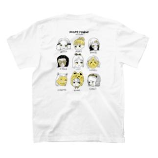 悔しがるオンナノコ達 T-shirts