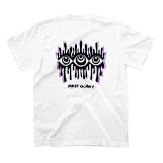 Melting eyes_hologram T-shirts