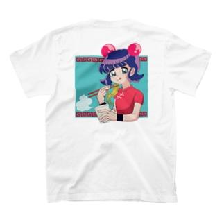 eat カップラーメン ダヨン T-shirts