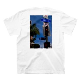 Californian Hill(バックプリント) T-shirts