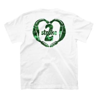 2stroke♡/カモフラ  T-shirts