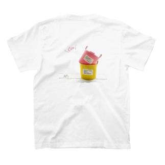 バックプリントTシャツ T-shirts