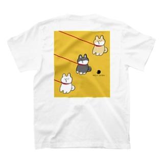 いやいやさん 柴犬 T-shirts