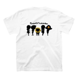 マリーゴールドちゃん ファッションショー シルエットバージョン あれ?!くまわりくん?? T-shirts