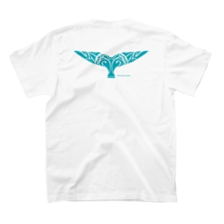 Tale of the Whale|クジラの尾 T-shirts