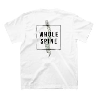 解剖学デザイン〜背骨〜 T-shirts