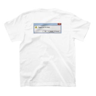 デザインは自分で挿入してね T-shirts