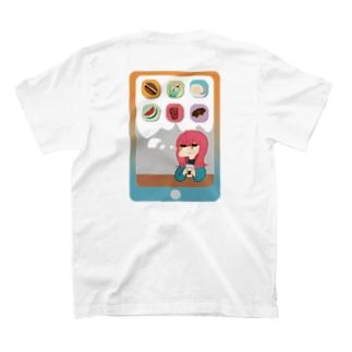 らてちむ 白 T-shirts