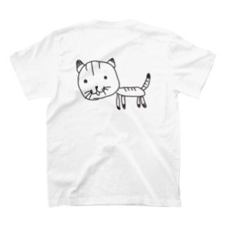 ふつうのねこT/hu tsu u no neko T-shirt T-Shirt