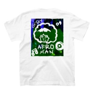 210726 アフロマン T-shirts