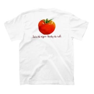 ※背面印刷 ジュースは苦手。ケチャップは好き。 T-Shirt