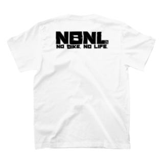 NO BIKE, NO LIFE. :ブラック  T-shirts
