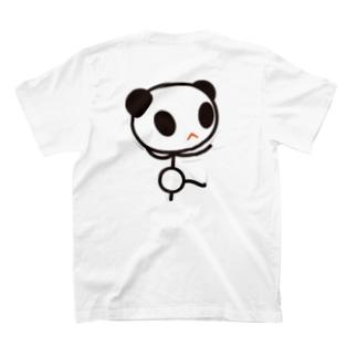 くっつき棒パンダ。(大) T-shirts