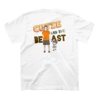 かわいこちゃんとパパ kids T-Shirt