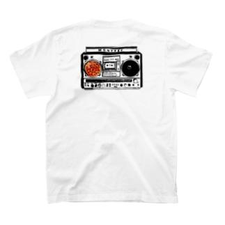 '90ラジカセとピザ🍕 T-shirts