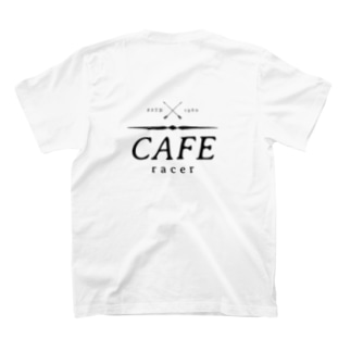 Caferacer ロゴ ブラック T-Shirt