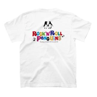 ロックンロールペンギン001 T-shirts