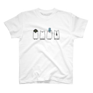 はたらくねこさんたち T-shirts
