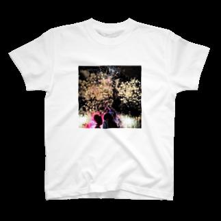 ホッキーショップの花火大会 T-shirts