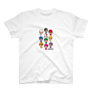 競輪研究公式です T-shirts