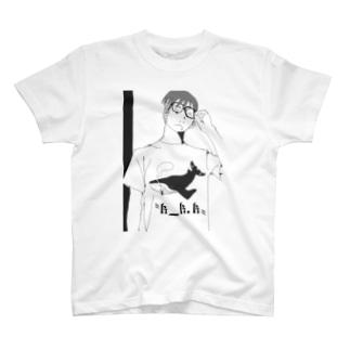 眼鏡系男子A T-shirts