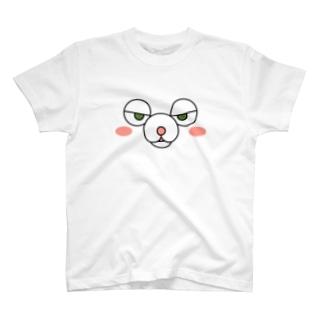 フッドフェイス T-shirts