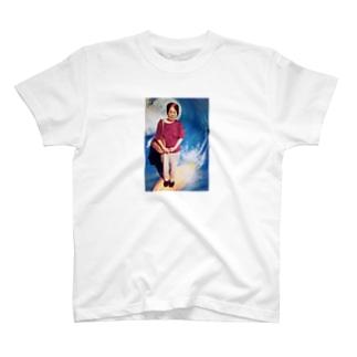 波乗りおばあちゃん T-shirts