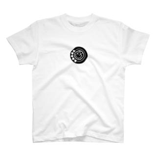 black smiley T-shirts
