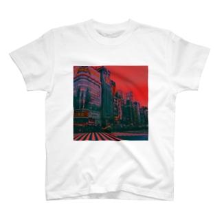 世紀末のしんじゅく T-shirts