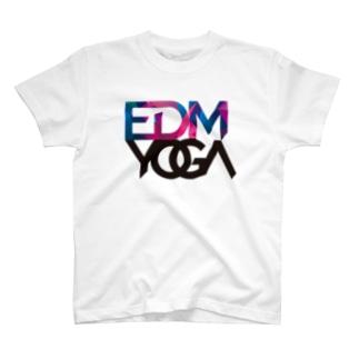 EDM yoga Tシャツ Tシャツ