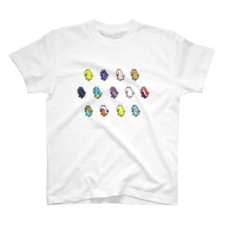 【Tシャツ】ドットウミバク T-shirts
