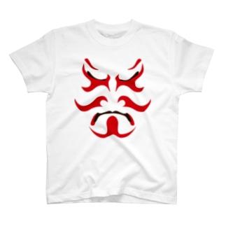 歌舞伎役者 T-shirts