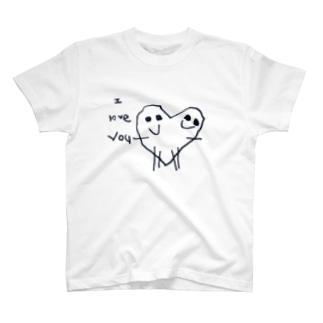 愛loveyou T-shirts