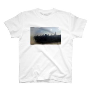 skyscraper in NY T-shirts