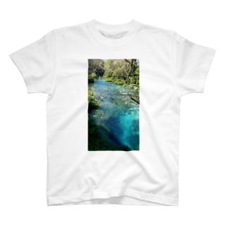 syri i kaltër(シリカルタ)川3-字無しtype- T-shirts
