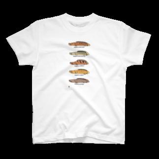 幻想水系branch byいずもり・ようのプチプチポリプ(下の巻) T-shirts