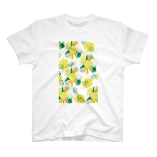 yellow_flower T-shirts