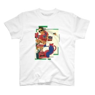 スカルプチャーboy T-shirts