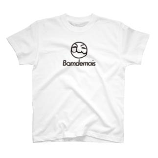 BomdemaisロゴT T-shirts