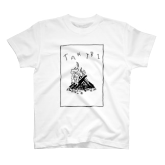『TAKIBI』 T-shirts