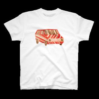 さぶのcar T-shirts