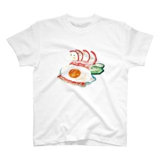 確かな朝食。 Tシャツ