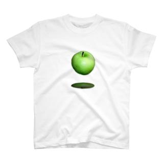 青いリンゴ T-shirts