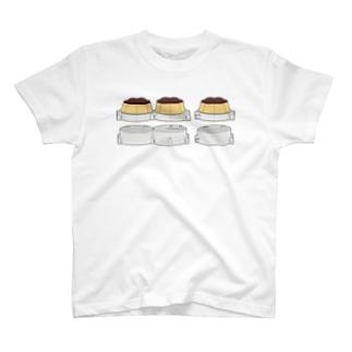 プッチンプリンをプルプルさせるマシンパワーアップバージョンのプレゼンテーション T-shirts